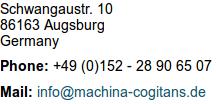 Schwangaustr. 10, 86163 Augsburg, Germany